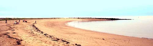 The beach at Jaywick